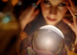 Crystal Ball & Fortune Teller, Public Domain