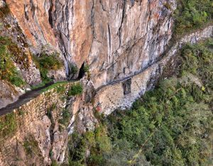 Hiking the Inca Trail Bridge, Wikipedia Commons