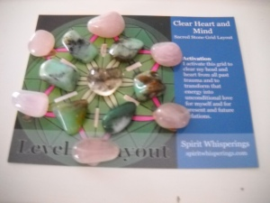 Crystal Grid for Clear Heart & Mind from Spirit Whisperings