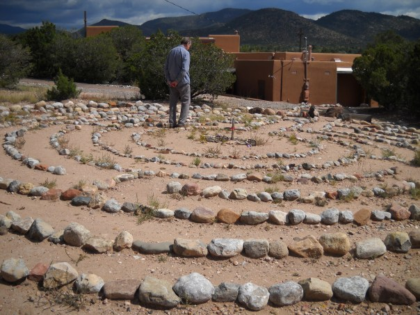 Labyrinth, Christ Lutheran Church Santa Fe Copyright G G Collins