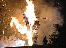 Zozobra, Burn Baby Burn Wikimedia Commons