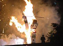 Zozobra, Burn Baby Burn Wikimedia Commons