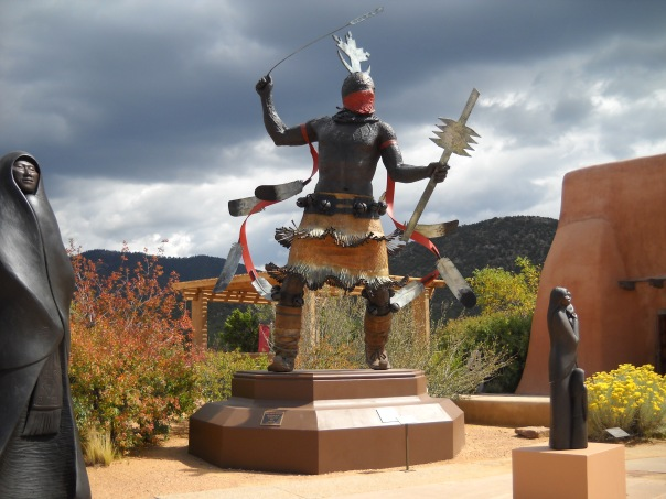Mountain Spirit Dancer by Craig Dan Goseyun Bronze, c. 2000 Copyright G G Collins