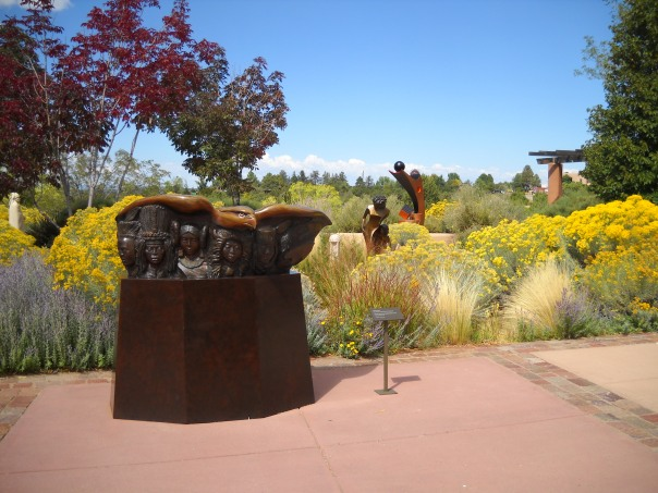 Museum Hill Sculpture Garden  Copyright G G Collins