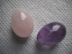 Rose Quartz & Amethyst Copyright G G Collins 2015