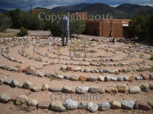 Labyrinth in Santa Fe, NM